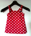 Robe à pois taille 6 ans